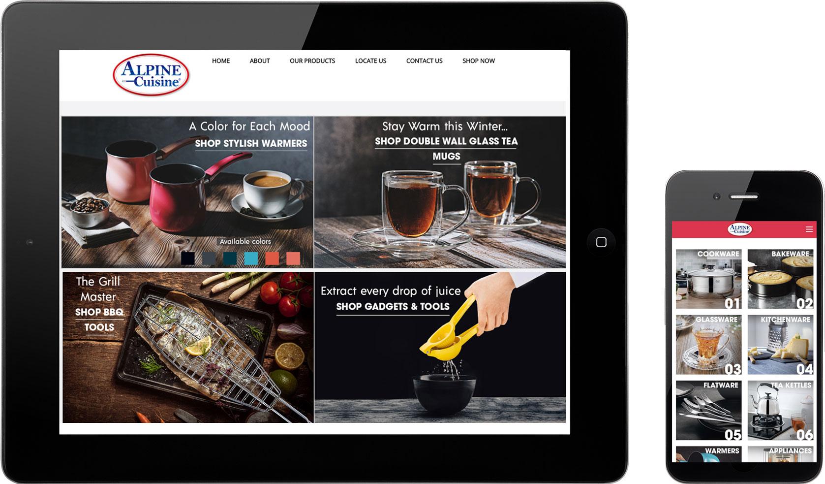 Alpine-Cuisine-Website